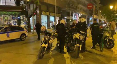 Επιχείρηση της αστυνομίας στη Θεσσαλονίκη για την αποφυγή συνωστισμού