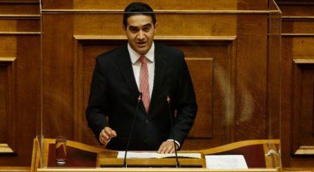 Το ΚΙΝΑΛ δεν θα δώσει ψήφο εμπιστοσύνης στην κυβέρνηση και στον κ. Σταϊκούρα