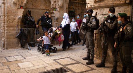 Διαδηλώσεις Παλαιστινίων για τις δηλώσεις Μακρον κατά του ισλαμικού εξτρεμισμού