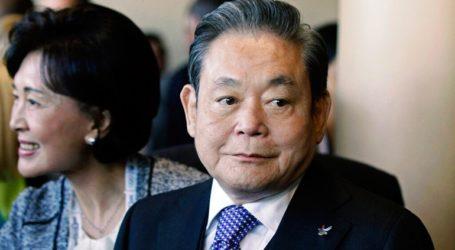 Πέθανε ο πρόεδρος της Samsung Λι Κουν Χι