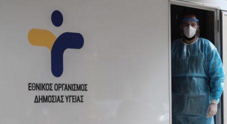 Δωρεάν rapid τεστ κορωνοϊού στην πλατεία Περιστερίου