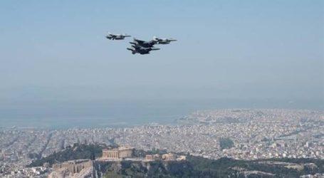 Μαχητικά αεροσκάφη στους ουρανούς της Αθήνας και της Θεσσαλονίκης σήμερα στις 12:00