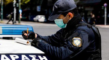 Νεαροί χωρίς μάσκα λογομάχησαν με αστυνομικούς και κατέληξαν στο Τμήμα