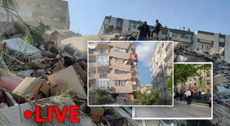 Πανικός και καταστροφές στη Σμύρνη από τον σεισμό