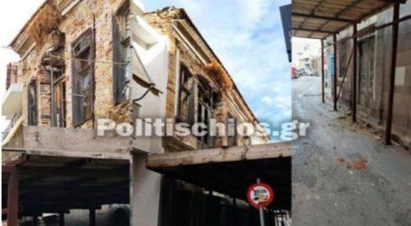 Ζημιές σε κτήρια στη Χίο προκάλεσε ο ισχυρός σεισμός