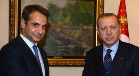 Ο Ερντογάν ευχαρίστησε τον Μητσοτάκη στο Twitter