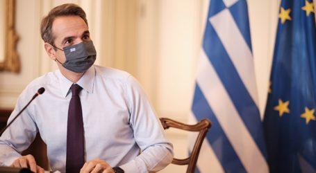 Στη Σάμο ο πρωθυπουργός Κυριάκος Μητσοτάκης