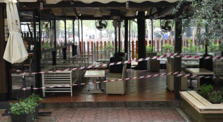 «Κλειστόν»: Χωρίς καταστήματα εστίασης από σήμερα η Λάρισα – Η εικόνα της πόλης (φωτο)