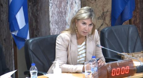 Ζέττα Μακρή: «Με εντολή πρωθυπουργού, άμεση αποζημίωση των πληγέντων, από τον Ιανό, παραγωγών»