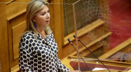 Ζέττα Μακρή: Στην Βουλή, η ενίσχυση του περιφερειακού τύπου