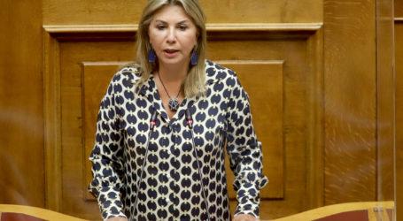 Πρόταση δυσπιστίας: Επίθεση της Ζέττας Μακρή στον ΣΥΡΙΖΑ για την παρελκυστική κοινοβουλευτική πρακτική του