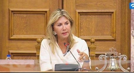 Παρέμβαση Ζέττας Μακρή για την  πρόσληψη οδηγού ασθενοφόρου  στο Κ. Υ. Αλμυρού