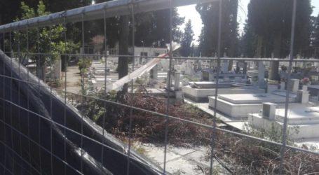 «Τριτοκοσμικές εικόνες από το παλιό κοιμητήριο…» καταγγέλλει Λαρισαίος (φωτο)