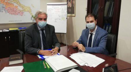 Ορκίστηκε αναπληρωτής διοικητής στο Γ.Ν. Λαμίας ο Γιώργος Καραβάνας