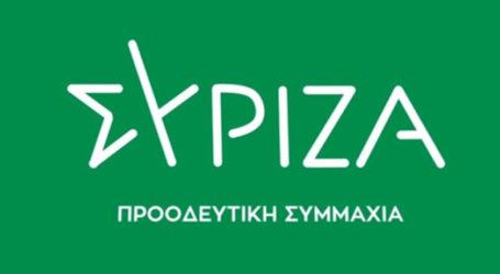 ΣΥΡΙΖΑ Μαγνησίας: Χαιρετίζουμε την ιστορική απόφαση για τη Χ.Α.