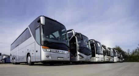 Βόλος: Λιγότερα τέλη κυκλοφορίας ζητούν οι ιδιοκτήτες τουριστικών λεωφορείων