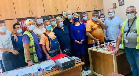 Ζέττα Μακρή: «Τέλος στην πολυετή ομηρία των λιμενεργατών Βόλου»