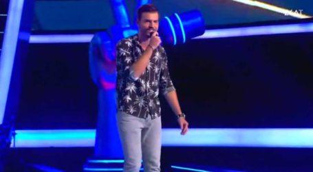 Ο κρεοπώλης που ενθουσίασε τον Πάνο Μουζουράκη στο The Voice