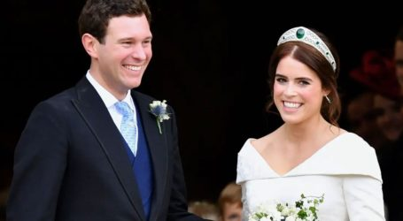Το τρυφερό βίντεο της πριγκίπισσας Ευγενίας με τον Jack Brooksbank για τη 2η επέτειο του γάμου τους