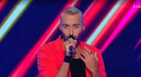 Άφωνος ο Μουζουράκης στο The Voice: «Νόμιζα ότι ήταν γυναικεία η φωνή»
