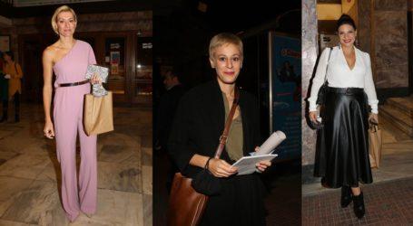 Έλαμψαν οι κυρίες του θεάτρου στην απονομή του βραβείου «Μελίνα Μερκούρη»