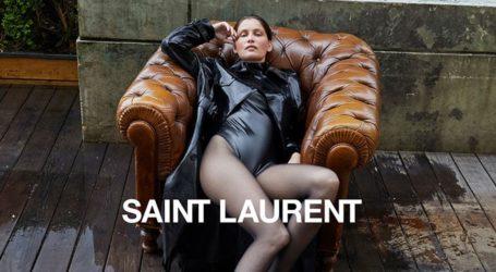 Η Laetitia Casta στα 42 της πρωταγωνιστεί στη νέα καμπάνια του Saint Laurent