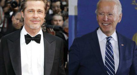 Ο Brad Pitt δάνεισε τη φωνή του στο νέο προεκλογικό σποτ του Joe Biden