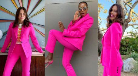 Γιατί το Instagram κατακλύστηκε από φωτογραφίες των celebrities με ροζ κουστούμι;