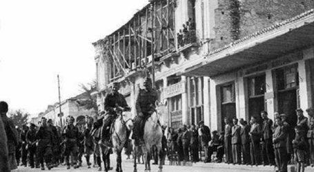 Λιτοί εορτασμοί λόγω κορωνοϊού σήμερα στη Λάρισα για την απελευθέρωση της πόλης από τη γερμανική κατοχή