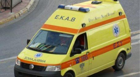 ΤΩΡΑ: Τραυματίστηκε 25χρονος σε τροχαίο ατύχημα στον Αλμυρό