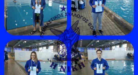 Τέσσερις αθλητές κολύμβησης της Νίκης Βόλου στις λίστες επιλέκτων της ΚΟΕ