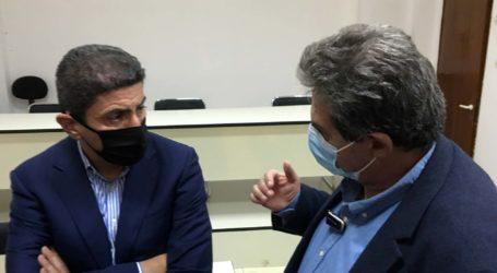 Συνάντηση Εσκίογλου με Αυγενάκη και επικοινωνία με Λιβάνιο για τις ζημιές σε αθλητικές εγκαταστάσεις