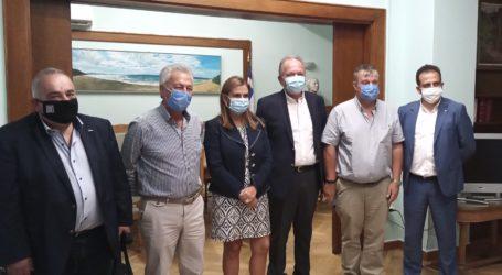 Συνάντηση του Πανελλήνιου Δικτύου Πρόληψης με την Υφυπουργό Υγείας – Παρών ο Λιούπης