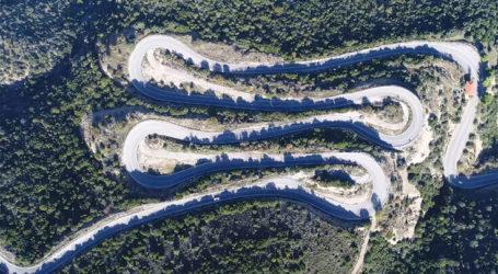 Ο ελληνικός δρόμος με τις 30 συνεχόμενες στροφές