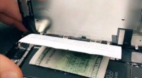 Μερακλής έκρυψε 100$ στο κινητό του για να μην επισκευαστεί και το ψάξει η γυναίκα του (vid)
