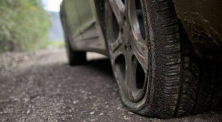 Βόλος: Έσκισαν για… πλάκα 19 λάστιχα αυτοκινήτων!