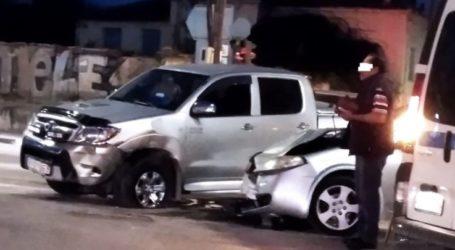 """Λάρισα: Τροχαίο με σύγκρουση αυτοκινήτων """"με το καλημέρα"""" – Στο ίδιο σημείο καταγράφηκε παρόμοιο συμβάν και χθες (φωτο)"""