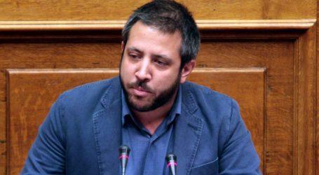 Ο Αλ. Μεϊκόπουλος αποχαιρετά τον Λ. Γαϊτάνη