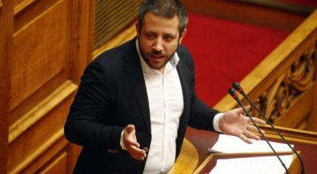 Εξηγήσεις για την παραμονή του σκραπ στον προβλήτα 1 του Λιμανιού Βόλου ζητάει ο Αλ. Μεϊκόπουλος