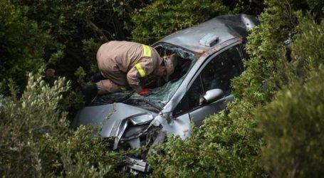 Τροχαίο ατύχημα στο Πήλιο – ΙΧ εξετράπη της πορείας του