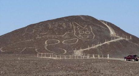 Περού: Ανακαλύφθηκε εντυπωσιακό γεωγλυφικό με τη μορφή γάτας