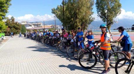 Με επιτυχία η ποδηλατοδρομία της Νίκης Βόλου για τη «Φλόγα»