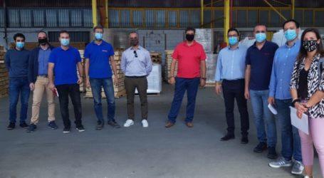 ΣΘΕΒ: Συνάντηση στην Exalco Α.Ε.για το έργο ΠΡΟΒΛΕΠΩ