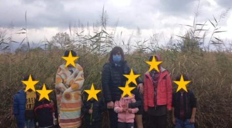 Η Λαϊκή Συσπείρωση Τεμπών επισκέφτηκε τις δομές προσφύγων σε Αμπελάκια και Καστρί Λουτρό