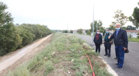 Λάρισα: Συνεχίζονται τα έργα για την μετατροπή της τάφρου Ι1 σε γραμμικό πάρκο (φωτο)