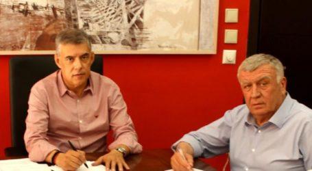 Υπογράφηκε η σύμβαση του δρόμου Άγιοι Ανάργυροι – Άγιος Γεώργιος από την Περιφέρεια Θεσσαλίας