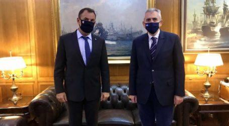 Χαρακόπουλος με Υπουργό Εθνικής Άμυνας: Η Ελλάδα έχει την ισχύ να αποτρέψει κάθε επιβουλή!