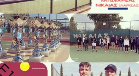 Σταθερά στην κορυφή του ελληνικού τένις οι αθλητές του ομίλου ΟΑ Λάρισας Νίκαιας