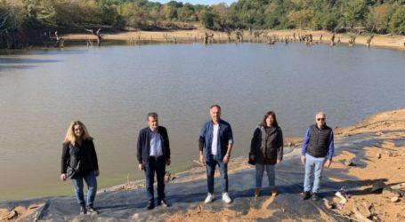 Ολοκληρώθηκαν από την Περιφέρεια Θεσσαλίας οι εργασίες καθαρισμού της Λιμνοδεξαμενής Σκήτης