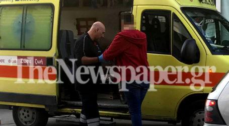 ΤΩΡΑ: Τροχαίο με δύο τραυματίες στο κέντρο του Βόλου [εικόνες]